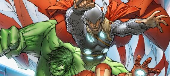 Marvel Unveils Marc Silvestri's AVENGERS ASSEMBLE #1 Variant Cover
