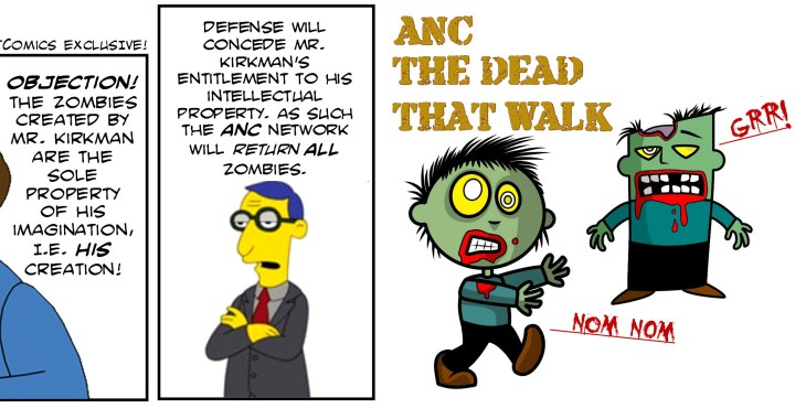 The Dead That Walk!