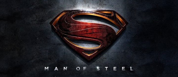 NEW Superman Man of Steel Logo Banner
