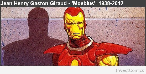 InvestComics remembers Moebius