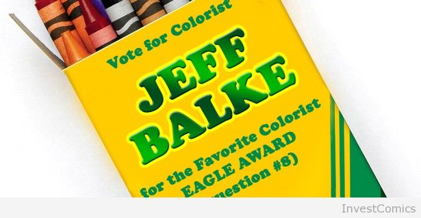 Jeff Balke Nominated for Eagle Award. Vote Now!