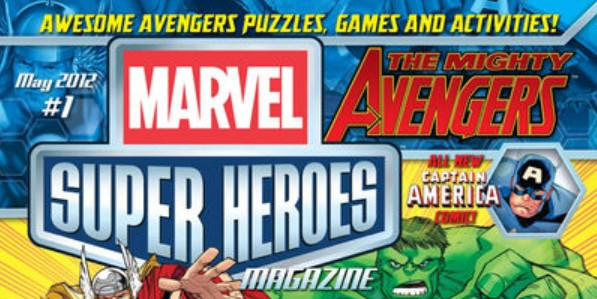 MARVEL SUPER HEROES MAGAZINE is all-ages fun!