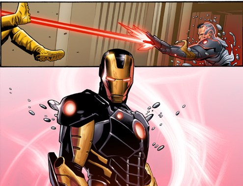 Tony Stark Flies Into Marvel NOW! In IRON MAN #1!