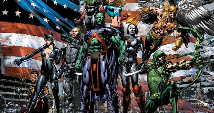 GEOFF JOHNS & DAVID FINCH introduce all new JUSTICE LEAGUE OF AMERICA in 2013