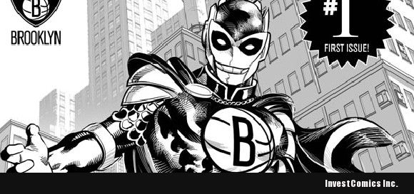 Marvel & the Brooklyn Nets Unveil FIRST Super Hero IN nba history!