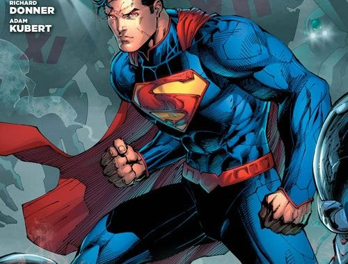 DC/Diamond reveal content for FCBD: SUPERMAN Give-away.