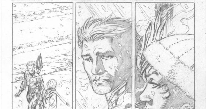 First look at AQUAMAN #17.