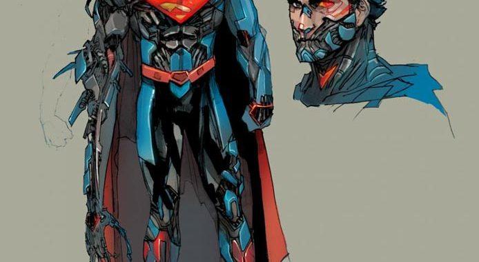 CYBORG SUPERMAN to make NEW 52 debut