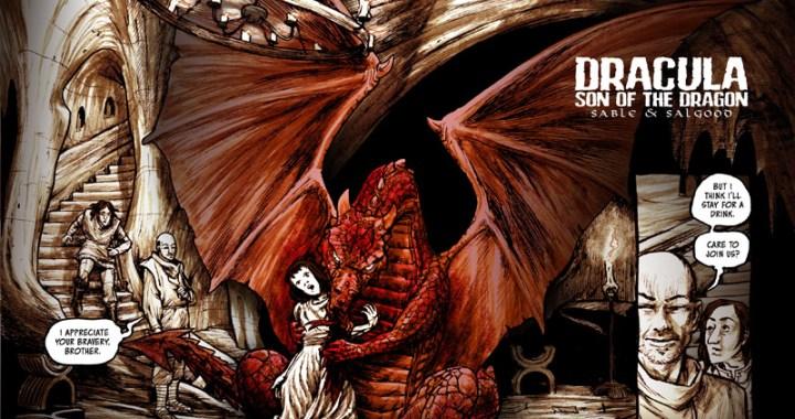 Sable, Salgood kickstart DRACULA: SON OF THE DRAGON