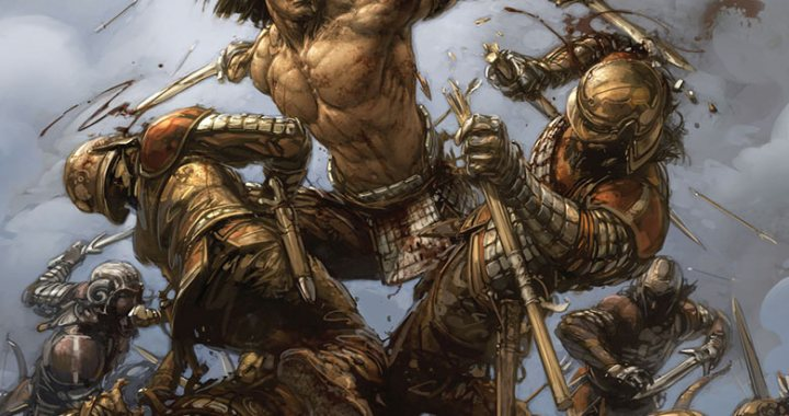 PAK and HAIRSINE launch ETERNAL WARRIOR ongoing
