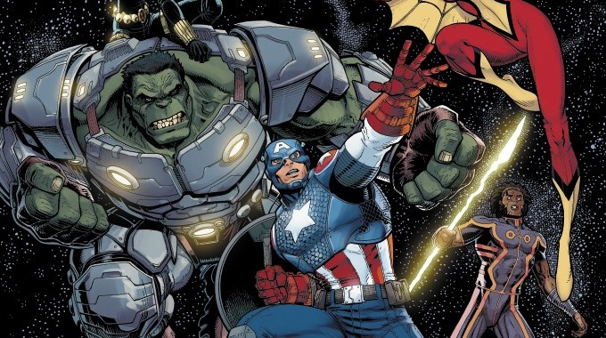 MARVEL reveals ARTHUR ADAMS variant for INFINITY #1