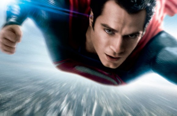 New MAN OF STEEL poster soars to theaters
