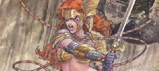 ANGELA Hits Her Mark On Milo Manara's Variant Cover To GUARDIANS OF THE GALAXY #5!