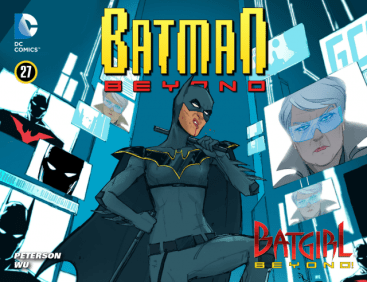 batman beyond 27 first Nissa