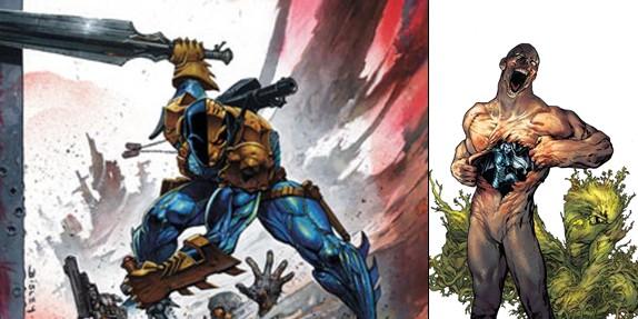 InvestComics: Comic Book Debate – The New Teen Titans #2 VS. Swamp Thing #2