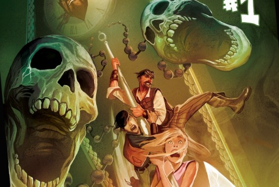 Seifert & Moline kick off MARVEL's new DISNEY KINGDOMS line with SEEKERS OF THE WEIRD