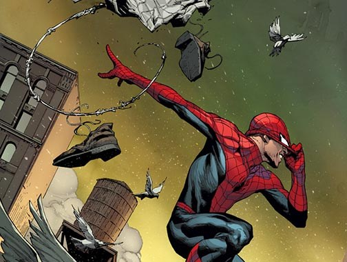 PETER PARKER RETURNS IN AN ALL-NEW AMAZING SPIDER-MAN #1