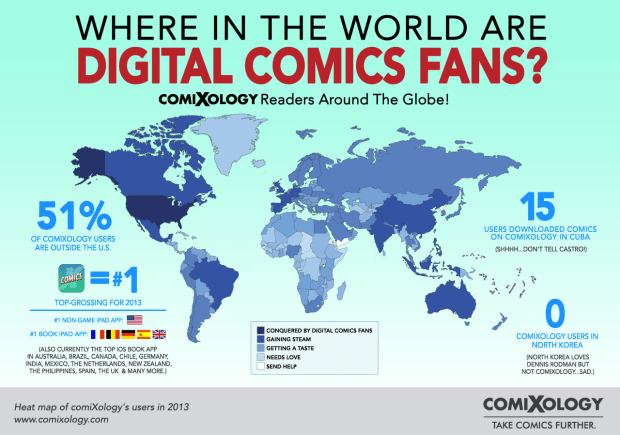 Comixology map