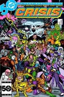 Crisis on Infinite Earths #9 InvestComics