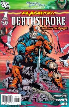 Deathstroke and the curse of The Ravager #1 InvestComics