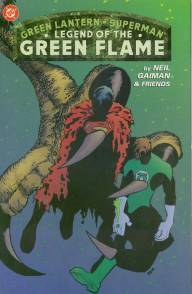 Green Lantern Superman Legend of the Green Flame InvestComics