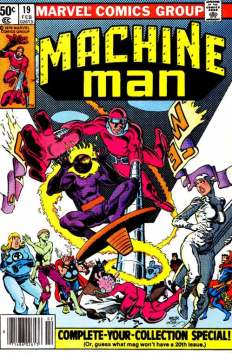 Machine Man #19 InvestComics