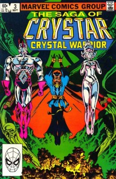 The Saga of Crystar Crystal Warrior #3 InvestComics