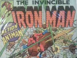 WIN A Signed Iron Man/Ant-Man Comic