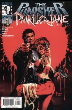 Punisher Painkiller Jane InvestComics