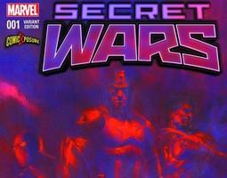 Win Secret Wars #1 Comicxposure Variant