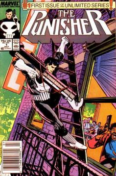 The Punisher #1 regular series InvestComics