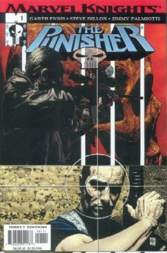 The Punisher Marvel Knights REGULAR series 2001 InvestComics