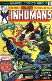 Inhumans 1 InvestComics