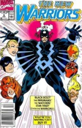 New Warriors Black Bolt InvestComics
