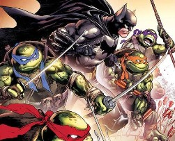 WIN Batman/TMNT #1 Variant