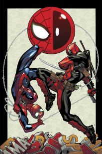 SpiderMan and Deadpool 1