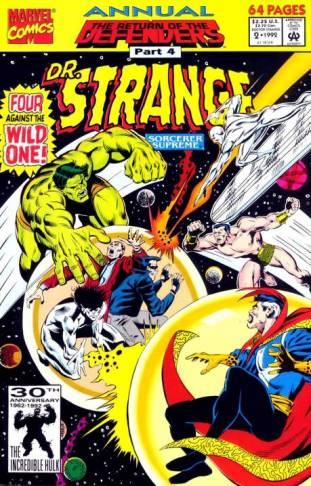 Doctor Strange Sorcerer Supreme Annual #2