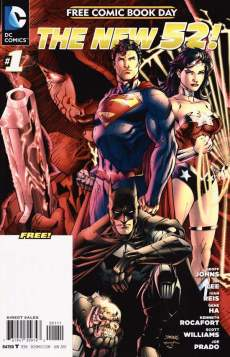 DC The New 52 FCBD #1