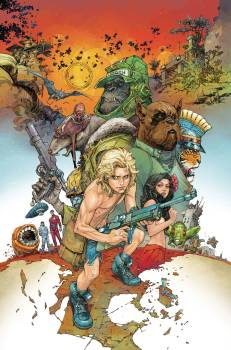 Kamandi Challenge #2 - Kenneth Rocafort