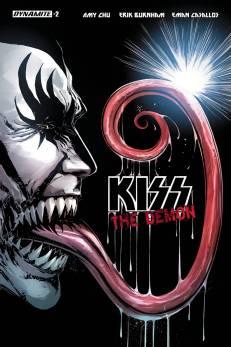 Kiss Demon #2 - Tom Mandrake