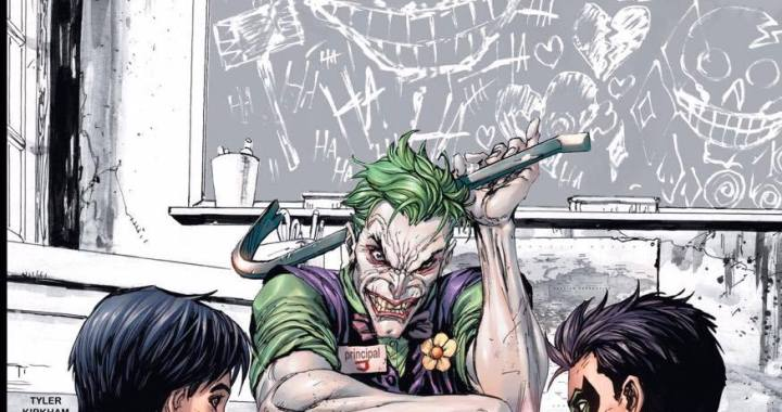 WIN Super Sons #1 Joker Variant