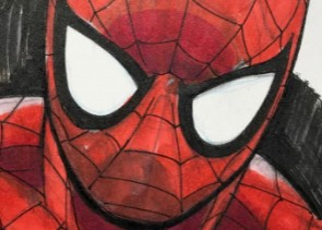 WIN Spider-Man Sketch Card