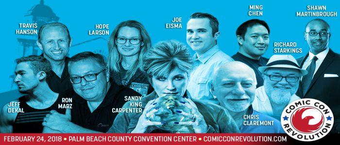 WIN 2 Tickets To Comic Con Revolution