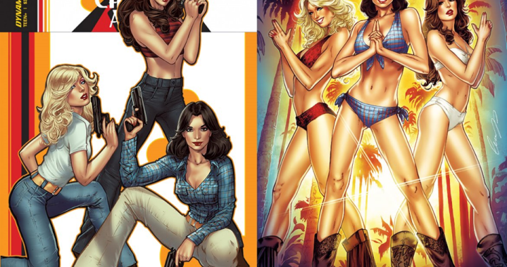 WIN Charlie's Angels #1 Variants