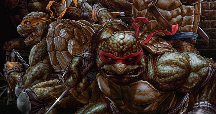 WIN TMNT #84 Virgin Cover SIGNED