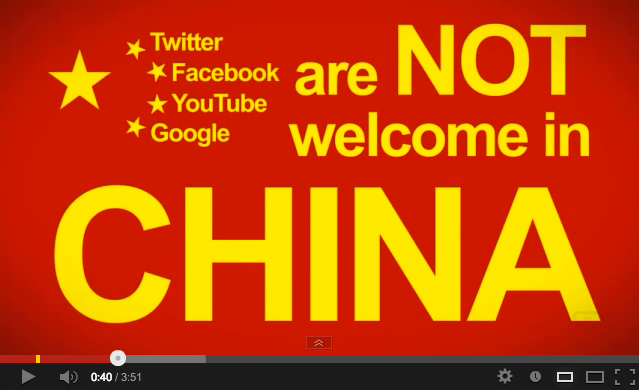 Banned social networks in China