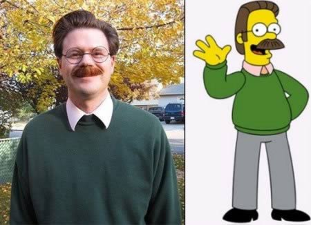 Ned Flanders from The Simpsons