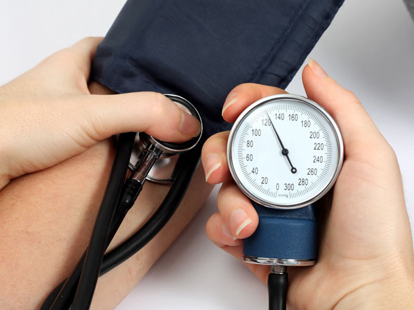 Regularly check your blood pressure