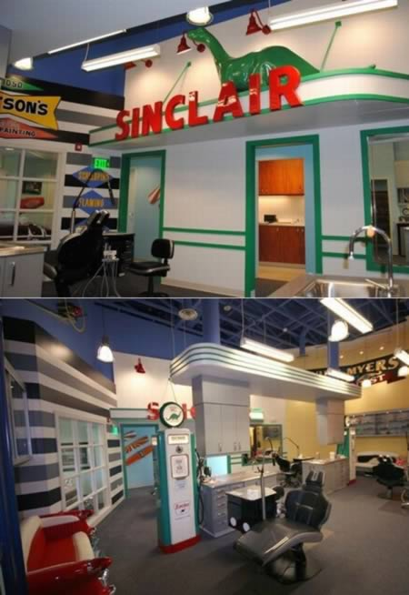 50s diner dental office