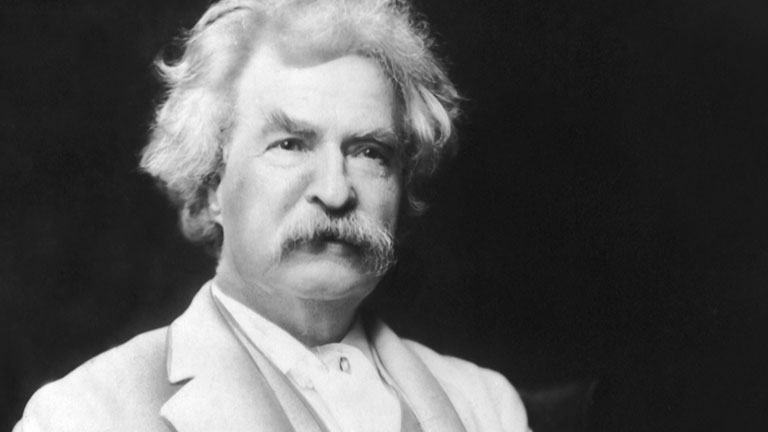 Mark Twain and the Halley's Comet